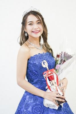 準Miss Campus Girlに輝いた瀧本マリマルさん