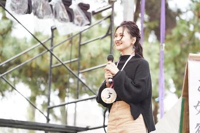 西南学院大学の学園祭「西新百道祭」のミスコンファイナリスト