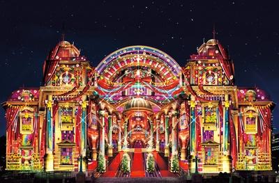 開館100周年を迎える大阪市中央公会堂をスクリーンに、壮大な光で描かれる芸術/OSAKA光のルネサンス2018