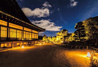 普段は見られない、幻想的な夜の二条城建築物も必見/秋季特別ライトアップBY NAKED2018ー京都・二条城ー