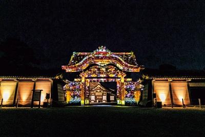 重要文化財 唐門 プロジェクションマッピング/秋季特別ライトアップBY NAKED2018ー京都・二条城ー