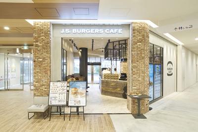 [J.S.BURGERS CAFE MARK IS 福岡ももち店]ボリューム満点のハンバーガーで人気を博す