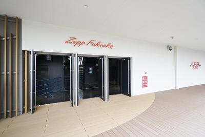 "[Zepp Fukuoka]""MARK IS デッキ""のドーム側に復活したライブハウス"