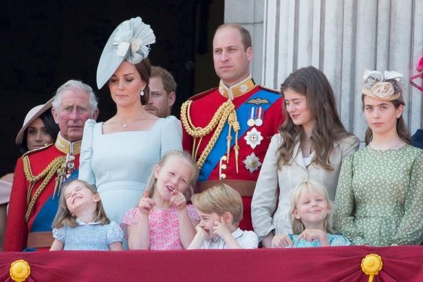 チャールズ皇太子とウィリアム王子一家は、不仲説が取りざたされてきたが…