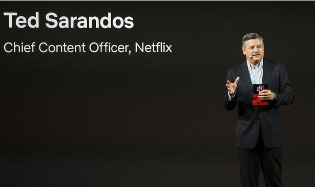 アジア各国からのNetflixオリジナル映画について説明するテッド・サランドス コンテンツ最高責任者。