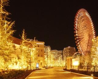 街や施設内がキラキラと輝く!みなとみらいの絶景イルミネーション