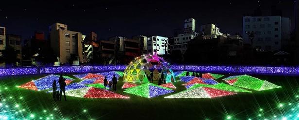 天文館ミリオネーション2019 / 天文館が100万球のイルミで輝く冬の祭典