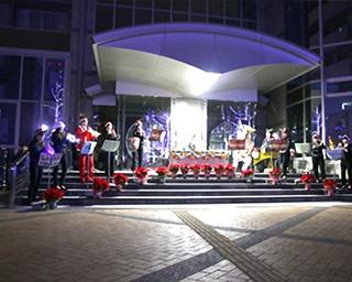 LEDの数は約35万球!徳島キャンパスで「徳島文理大学イルミネーション文理ナリエ」開催