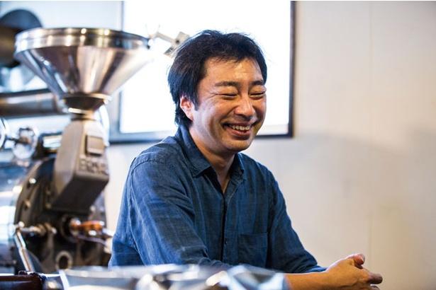 コーヒー店の開業支援にも力を入れる酒井さん