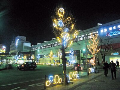 茨木市内のイルミスポットを楽しく歩けるよう、スタンプラリーや子供向けのワークショップなども実施/いばらき イルミフェスタ 灯(AKARI)