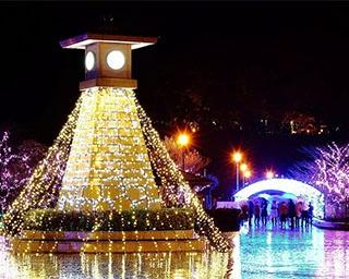約50万球の光が敦賀のクリスマスを彩る!「敦賀港イルミネーション『ミライエ』2018」