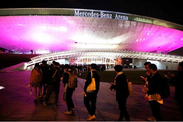 12月1日開催の上海公演の様子