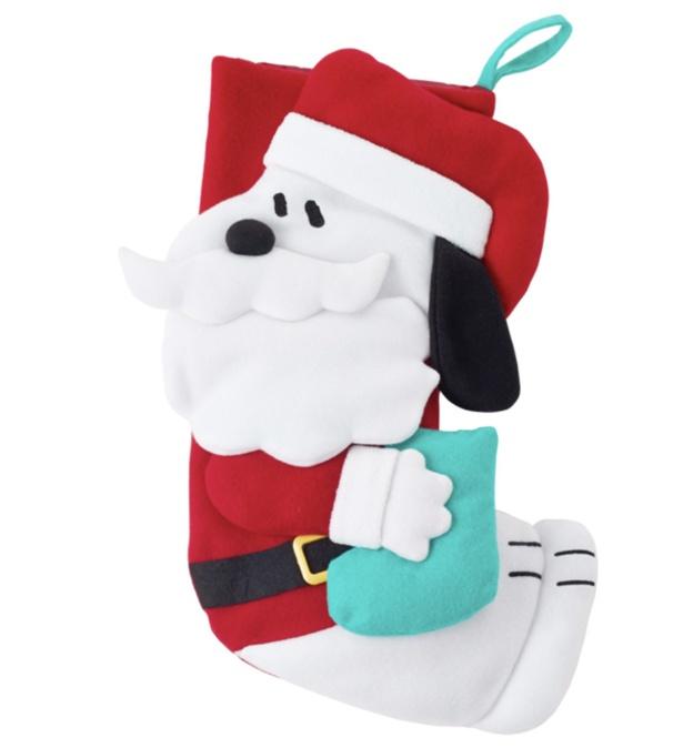 「PEANUTS スヌーピー クリスマス ビッグソックス(お菓子入り)」(1933円)