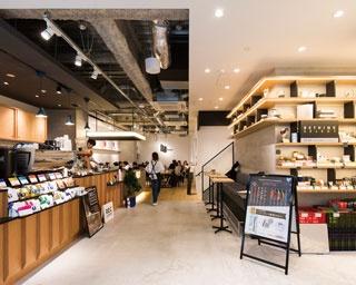 【福岡のカフェ】天神地区初のショップで新たな試み 「REC COFFEE meets RETHINK CAFE」