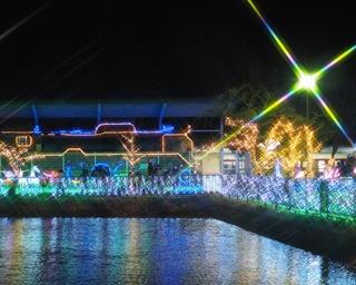 奈良県天理市で冬のイルミイベント「天理市光の祭典2018」が開催
