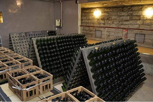 少しずつ完成に近づく『安心院スパークリングワイン』