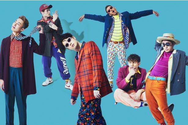 (写真左)gash!、RYO 、SHUN、SHINTARO、Toyotaka、SHINSUKE