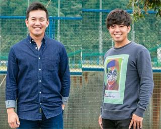 山﨑選手(左)と東選手(右)、2人のオシャレのこだわりは?