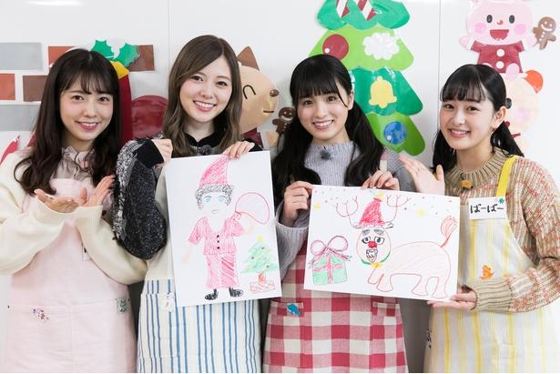 高校時代は保育士になるのが夢だったという白石麻衣が大園桃子、斉藤優里、向井葉月と共に保育園へ