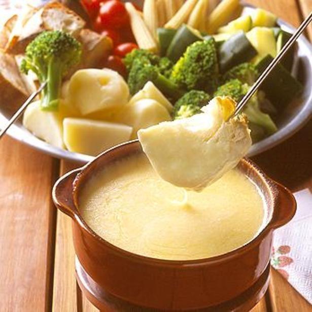 トロトロチーズをたっぷりつけて