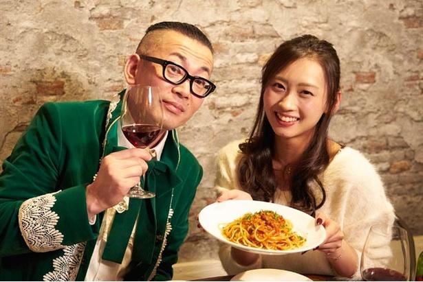 パスタは『タコのラグーソース』。完璧なマリアージュに、ワインも食事も進む