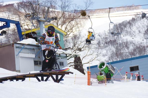 全面でスノースクートの滑走が可能!