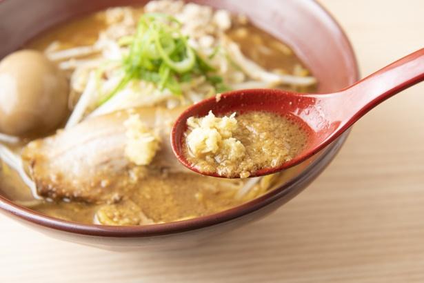 生姜を溶かしてスープに混ぜるのがおすすめの食べ方