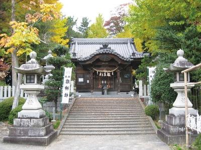 浄瑠璃や歌舞伎で演じられる物語の舞台に/「結神社」