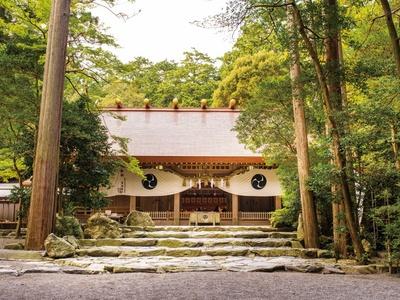 良縁祈願のには別宮の椿岸神社も参拝したい/「椿大神社」