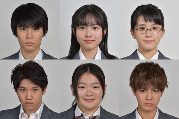 6人の生徒の名前とプロフィールを公開