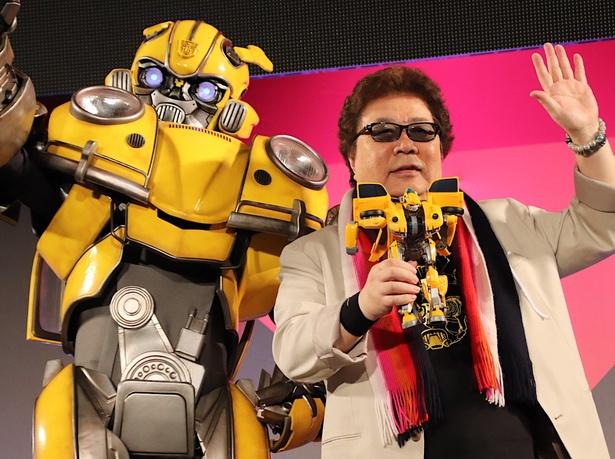 レジェンド声優、玄田哲章が東京コミコンに降臨!最新作の秘密もチラリと公開