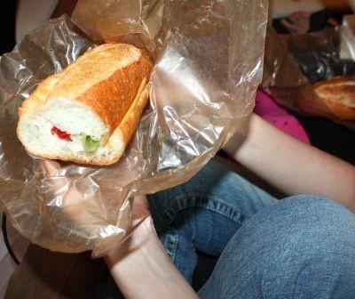 バゲットでサンドイッチを作ればオシャレ&おいしい♪