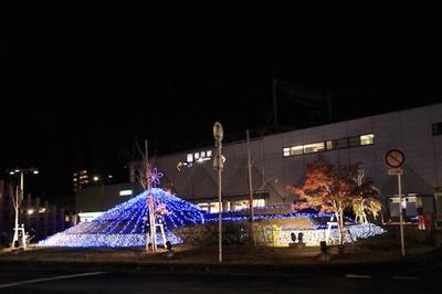 桜井駅前イルミネーションは2019年1月14日(月)まで実施中