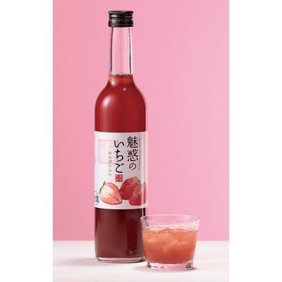 「丸石醸造」の「魅惑のいちご」(500ml・1480円)