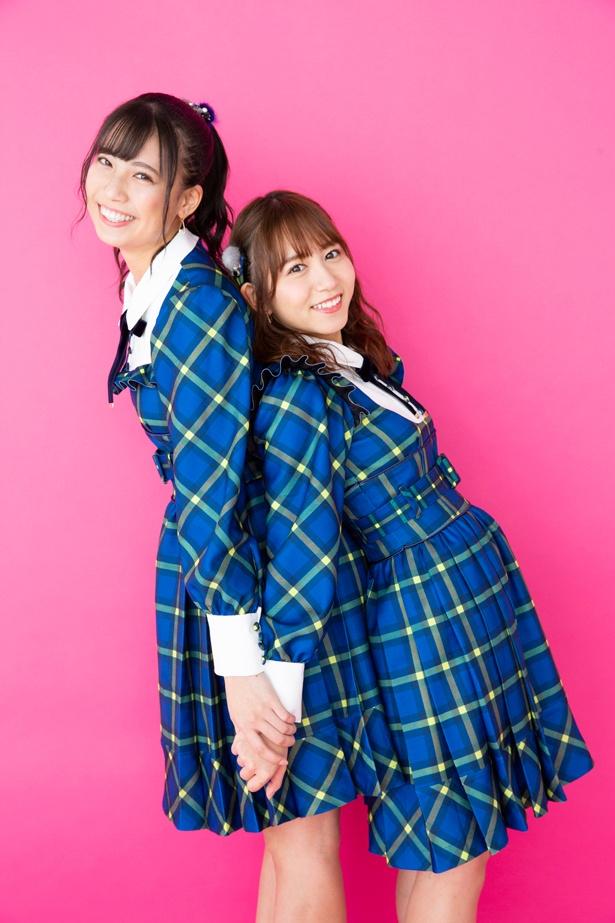 24thシングル「Stand by you」をリリースするSKE48の大場美奈(右)&荒井優希(左)にインタビュー!