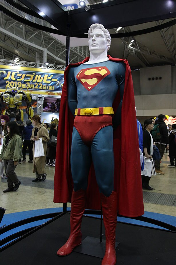 クリストファー・リーヴ版スーパーマンのスーツも人気を集めていた