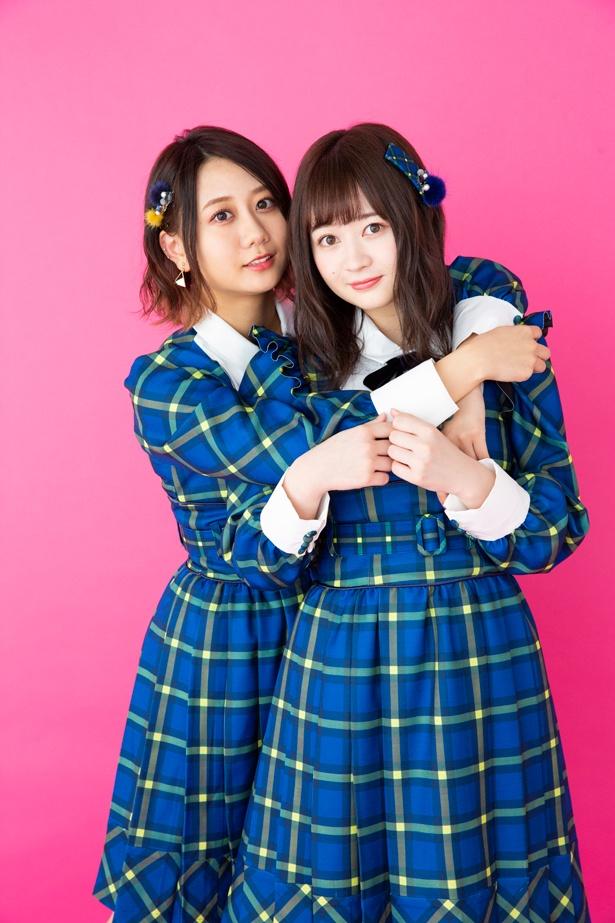 24thシングル「Stand by you」をリリースするSKE48の江籠裕奈(右)&古畑奈和(左)にインタビュー!