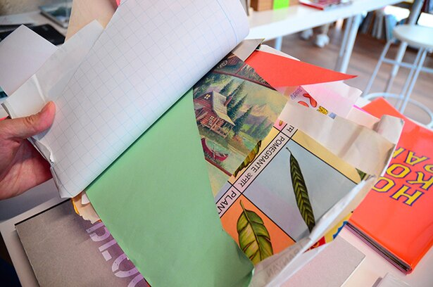 アーティストのアイデアが凝縮されたアーティストブック。普段なかなか見られないコレクションを堪能できる
