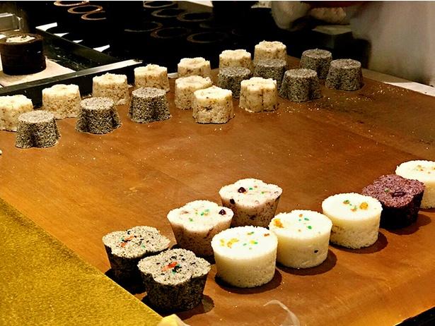 食べたいときに気軽に食べられる小さいサイズの台湾伝統スイーツを今でも店内で手作り / 合興壹玖肆柒