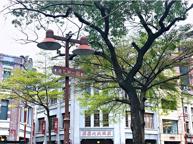 今の迪化街は台北の若者が最も行きたい街となった