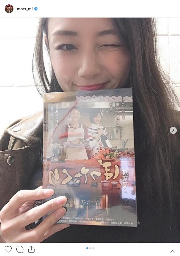 ドラマ「居酒屋ぼったくり」では主演を務めた片山萌美