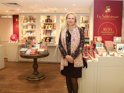 フランスのサブレブランド「ラ・サブレジエンヌ」が日本初出店。アメリ・ロレ社長が来日