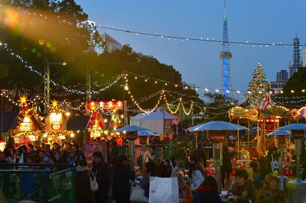 2018年12月8日(土)から24日(祝)まで久屋大通公園で開催される「名古屋クリスマスマーケット2018」