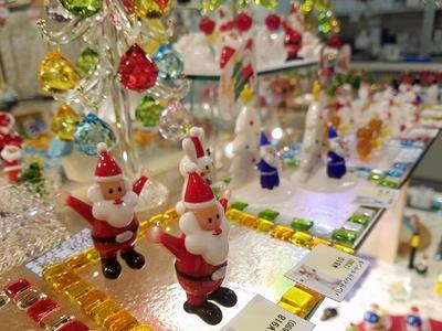 クリスマスにぴったりのかわいいアイテムもそろう