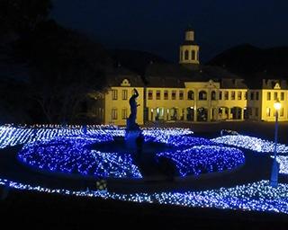 ドイツ館がきらめく光に彩られる!徳島県鳴門市でイルミイベント開催中