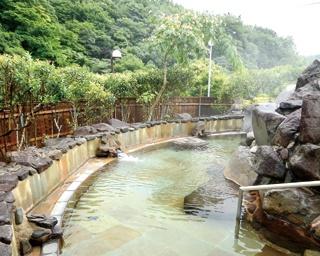 英彦山温泉 しゃくなげ荘 / 美しい緑の山肌が眼前に迫る、圧巻の景色
