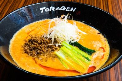 「坦担麺」(800円)/坦坦麺と麻婆豆腐の店 山之手 虎玄(愛知県豊田市)