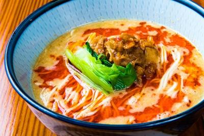 「坦々麺」(830円)/らーめん はなさき家(愛知県尾張旭市)