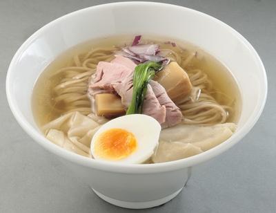 「鶏と魚の塩そば」(850円)/ガチ麺道場(愛知県豊川市)