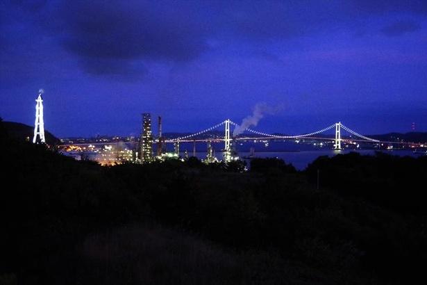 室蘭といえば工場夜景が有名!工業地帯だからこそ楽しめる風景です